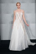 MARK ZUNINO Sweetheart A-line Gown in Duchess Satin