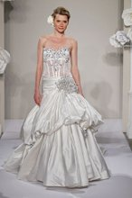 PNINA TORNAI Sweetheart Princess Ball Gown in Silk Taffeta