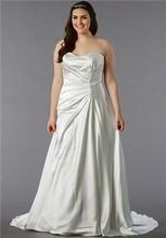 Dina Davos for Kleinfeld Style KW101  Off White, satin A-line