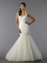 Mark Zunino Style 74521  Off White, tulle mermaid