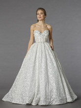 Pnina Tornai Style 4247  <br /> Off White, lace ball gown