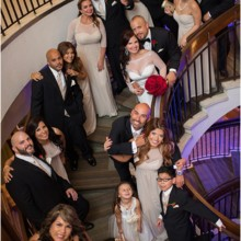 220x220 sq 1457625176266 bridal party on stairwell