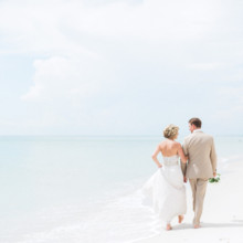 220x220 sq 1427744594855 bride  groom beach walk 3