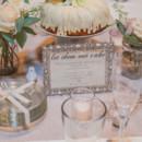 Reception table for autumn mountain wedding.