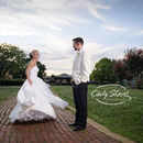 130x130 sq 1500654853 8c8459ab084eee2f bride and groom huntsville roundhouse sunset