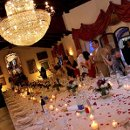 130x130 sq 1314811262922 weddingtabledecotationswithpetals