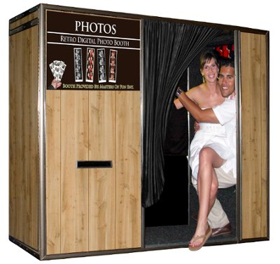 Long Island, NY, and NJ Wedding Photo Booth Rental by The Masters Of Fun