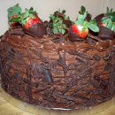 130x130 sq 1321578520522 chocolatecoveredstrawberrycake