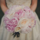 130x130 sq 1470418796652 peony garden rose bridal bouquet pink ivory
