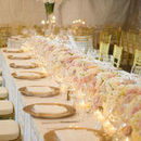 130x130 sq 1525443687 549b05f60b9090f5 1438284360752 floral garland table runner hydrangea fresia ivo