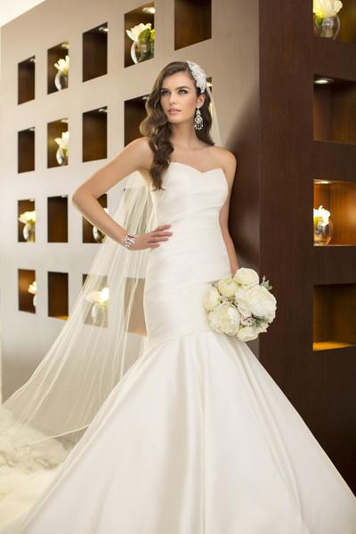 Essense of australia wedding dresses photos by essense of for Essense of australia strapless long wedding dresses