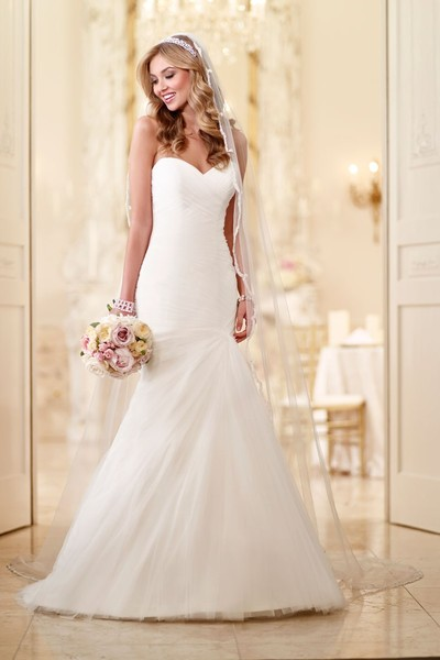 Stella york wedding dresses photos by stella york image for White corset under wedding dress