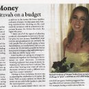 Our feature article from Washington Jewish Week! All about how to plan a fabulous event while on a budget!