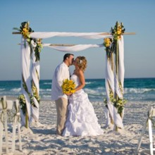 220x220 sq 1465838218856 caribbean beach wedding1
