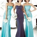 LEFT: 1712 MIDDLE: 1733 RIGHT: 1737 Our bridesmaid collection features an array of styles from classic, elegant to trendy. The collection involved dress with a very detail back for an element of surprise or you can choose from our simple and chic design that looks sexy in an understated way. Whichever style you select, you can take the dress anywhere, anytime, from day to night. We offer the most enchanting and enormous selection of colors for a wistfully individual approach to style.