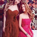 LEFT: 20091 RIGHT: 20105 Our bridesmaid collection features an array of styles from classic, elegant to trendy. The collection involved dress with a very detail back for an element of surprise or you can choose from our simple and chic design that looks sexy in an understated way. Whichever style you select, you can take the dress anywhere, anytime, from day to night. We offer the most enchanting and enormous selection of colors for a wistfully individual approach to style.