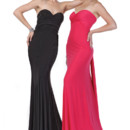 Right Style 20163  Jersey sheer floor length gown with sweetheart neckline and tie back design at the back. Dress can be convertible Left Style 20165  Jersey sheer floor length gown with sweetheart neckline and tie back design at the back. Dress can be convertible