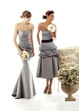 LEFT: 1568 RIGHT: 1595 Our bridesmaid collection features an array of styles from classic, elegant to trendy. The collection involved dress with a very detail back for an element of surprise or you can choose from our simple and chic design that looks sexy in an understated way. Whichever style you select, you can take the dress anywhere, anytime, from day to night. We offer the most enchanting and enormous selection of colors for a wistfully individual approach to style.