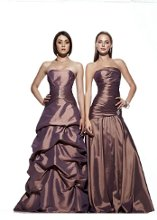 LEFT: 1628 RIGHT: 1639 Our bridesmaid collection features an array of styles from classic, elegant to trendy. The collection involved dress with a very detail back for an element of surprise or you can choose from our simple and chic design that looks sexy in an understated way. Whichever style you select, you can take the dress anywhere, anytime, from day to night. We offer the most enchanting and enormous selection of colors for a wistfully individual approach to style.