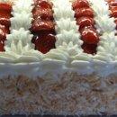 130x130 sq 1357603521000 whitecakewithfreshstrawberriesfromstackbistropastryandcake