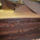 130x130 sq 1357603593562 chocolateflourlesscakeupclosefromstackbistropastryandcake