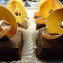 130x130 sq 1357603648820 flourlesschocolatecakepiecesfromstackbistropastryandcake