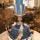 130x130 sq 1357603752984 bluegoldcake