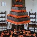 130x130 sq 1357603757375 brownorangecake