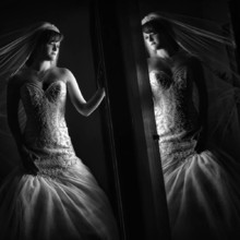 220x220 sq 1467829166948 santa clarita wedding photography tpc bw
