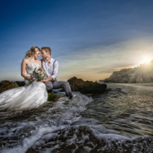 220x220 sq 1467829294646 los angeles beach wedding