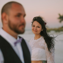 220x220 sq 1459022525848 intimate anna maria island elopement wedding 112