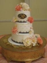 NY Cupcake Company Wedding Cake New York