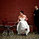 I love when a couple lets me try out a funny little idea that I might have. This bride didn't really smoke and there was no baby in the carriage...I get a lot of comments on this shot.