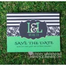 130x130 sq 1445454584503 black and white stripe save the date magnet koutur