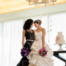 Two lovely brides.