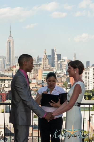 photo 5 of Knot by the Sea Weddings - Officiant Alexandra Paez - New York & New Jersey