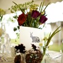 Caterer: Big Bang Catering Event Planner: JA Special Events & Weddings Floral Designer: Sweet Pea Flowers Reception Venue: Pastures of Plenty