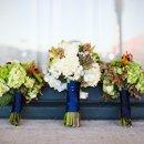 Caterer: Chef's Market  Event Planner: Premier W.E.D. Floral Designer: A Village of Flowers Reception Venue: Randi Events Dress Designer: 2be bride Cake Designer: Cakes by Rebecca DJ: JD's Music & Lighting
