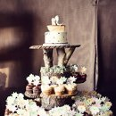 Caterer: San Diego Paella Floral Designer: The Flower Shop Reception Venue: Pintos Adobe Dress Store: J. Crew Cake Designer: VG's Bakery