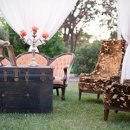 Caterer: Salt Creek Grill <br /> Event Designer: Celeste Gallagher Designs <br /> Floral Designer: Acton Country Flowers <br /> Reception Venue: Rancho Camulos Museum <br /> Invitation Designer: Printed Palette Ink <br /> Other: Vintage Affair Designs <br /> Cake Designer: CAKEgoodness <br /> Band: The Senors of Marseille <br /> DJ: SOS Entertainment <br /> Equipment Rentals: A1 Event Rentals <br /> Photo Booth Equipment: Picture Day Pros