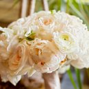 Caterer: Main Street Catering Floral Designer: Dahlia Floral Concepts Reception Venue: The Manor House at the Academy of the Sacred Heart Dress Store: Kleinfeld Dress Designer: Monique Lhuillier Lighting: L&A Rentals