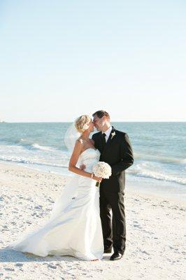 Tangerine Florida Beach Wedding Wedding Real Weddings