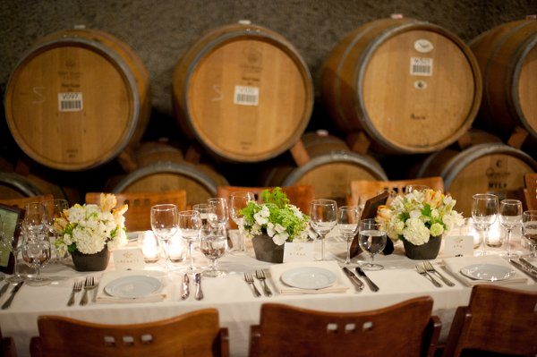 California Winery Wedding Decor Ideas