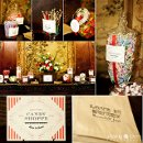 Russell & Joel's Wedding 2012 Custom Candy Station By Lemon Drop Team