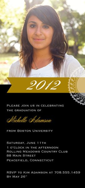 1327595539158 InvV4x8PhotoGraduationYear Waltham wedding invitation