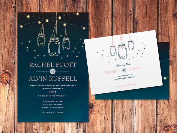 1457115000480 960x720 Wedding Trend Country 2 Waltham wedding invitation