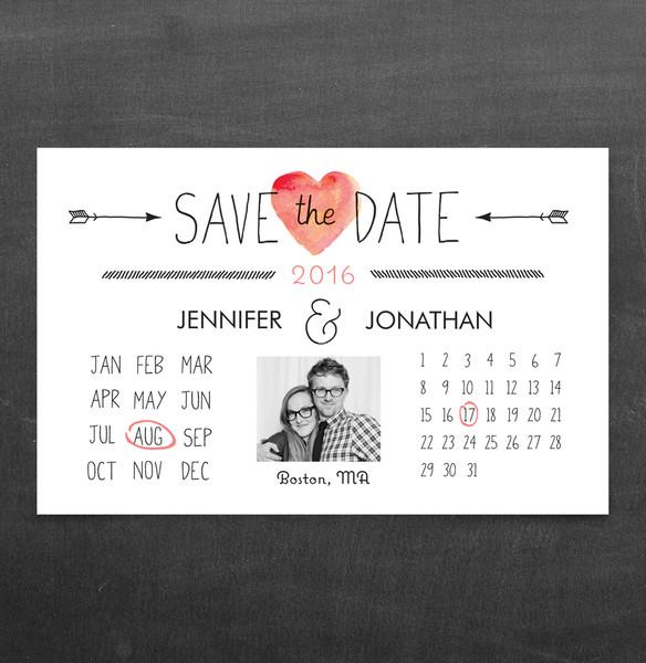 1458563744729 Calendar Std Waltham wedding invitation