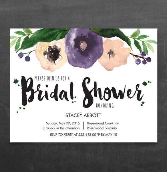 1458564365260 Bridal Shower Floral Invitation Waltham wedding invitation