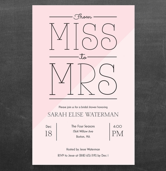1458564368381 Mis To Mrs Bridal Shower Waltham wedding invitation