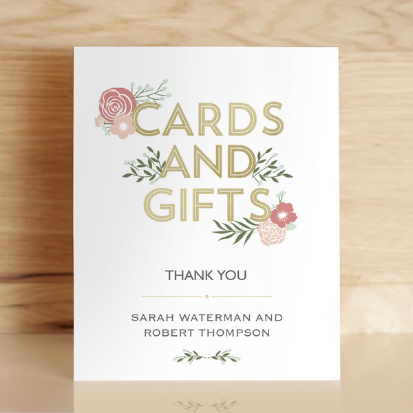 1459167749574 Cards And Gifts Sign Mockup Waltham wedding invitation